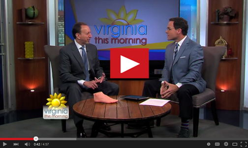 Dr. Waskin on Virginia This Morning on CBS 6.